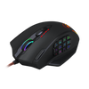 Redragon M908 IMPACT MMO Gaming Mouse up to 12,400 DPI High Precision Laser Mouse for PC