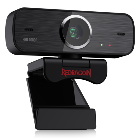 Redragon GW800 1080P Webcam 360-Degree Rotation