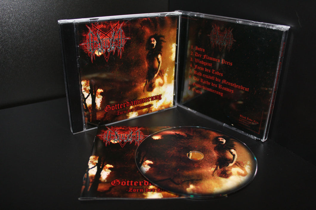 Irdorath - Götterdämmerung (Zorn der Elemente) CD (Jewel Case) - OUT OF PRINT - LAST PIECES!!!