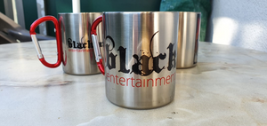 Blacklava Stainless Steel MUG Tasse - LOGO #1 NEARLY SOLD OUT!!!