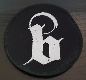 "Blacklava Logo ""B"" Patch 10cm"