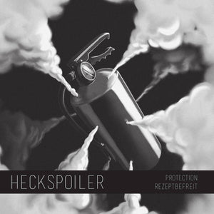 "Heckspoiler Split 7"" with LeslieActThriller - NEARLY SOLD OUT"