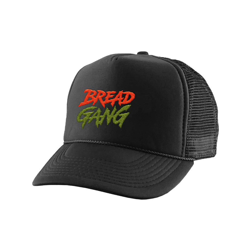 "Bread Gang ""Faded"" Trucker Hat - Black"
