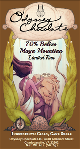 Belize 70% Maya Mountain Micro Batch