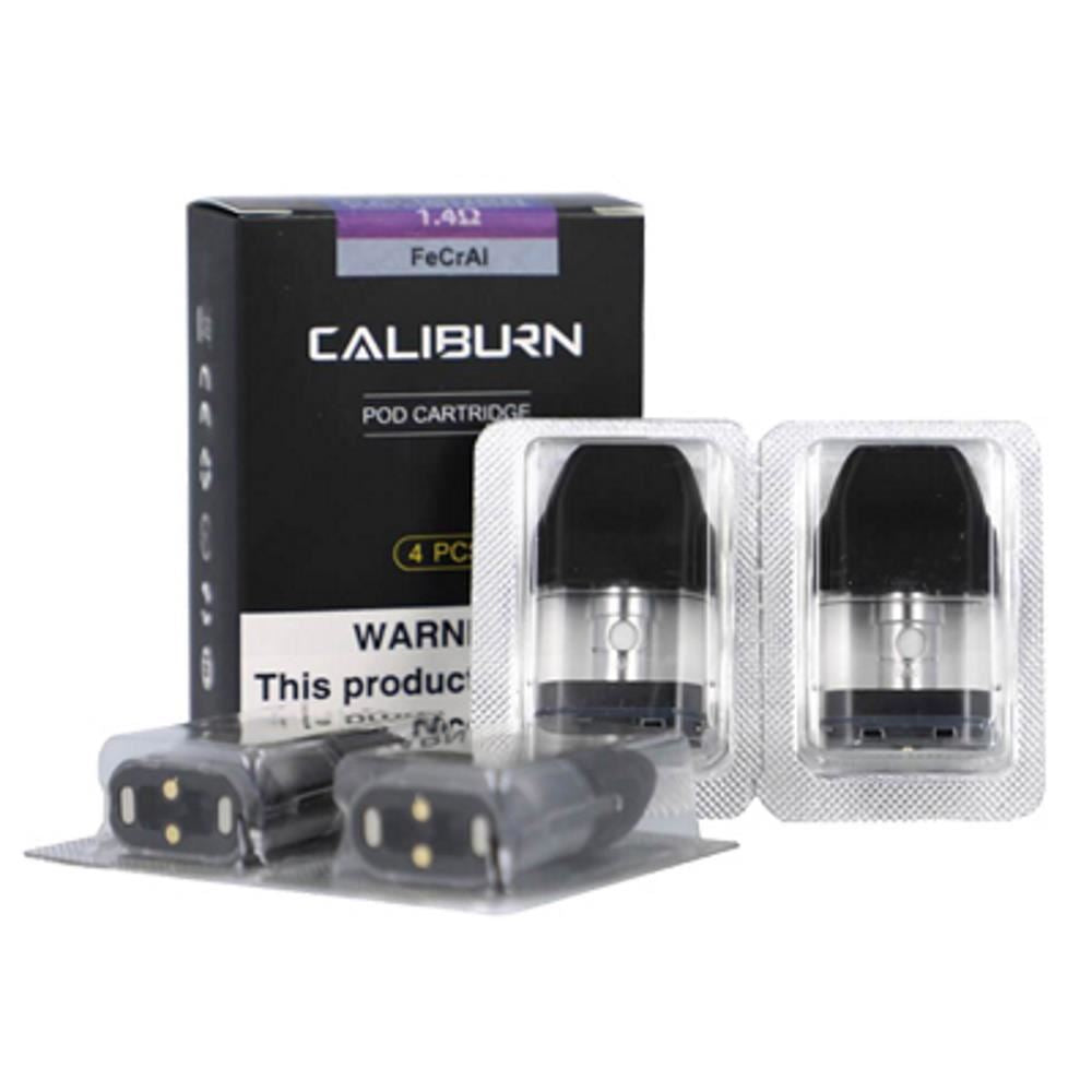 Caliburn Pod (4 pack) 1.4ohm