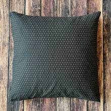 Load image into Gallery viewer, Small Dark Navy Asanoha Cushion Cover
