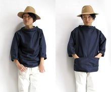 Load image into Gallery viewer, Royal Blue Sailor's Smock
