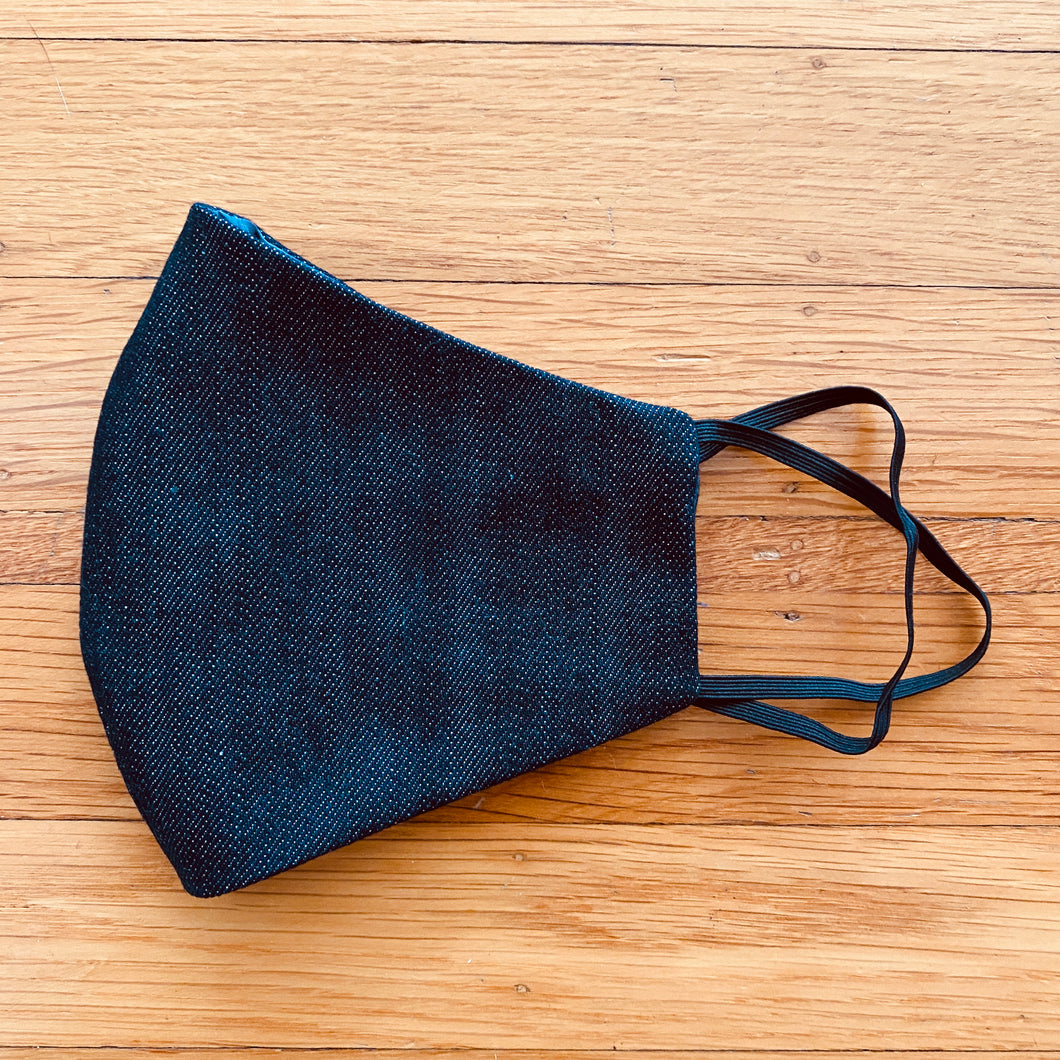 Organic Raw Denim Mask