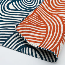 Load image into Gallery viewer, Isa monyo Reversible | Knot Blue/Orange