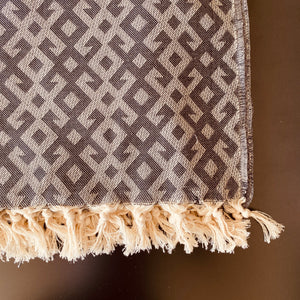 Kilim Pattern Turkish Throw