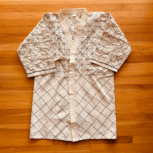 Sashiko Coat (white)