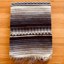 Load image into Gallery viewer, Mexican Satillo Wool Blanket
