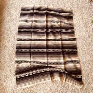Mexican Satillo Wool Blanket