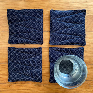 7 Treasures Textile Coaster Set