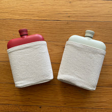 Load image into Gallery viewer, 6oz Flask with Canvas Carrier