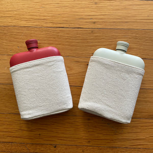 6oz Flask with Canvas Carrier