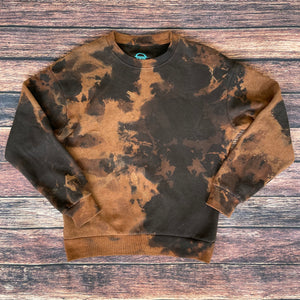 Bleach Splatter Sweatshirt