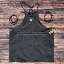Load image into Gallery viewer, Denim Apron