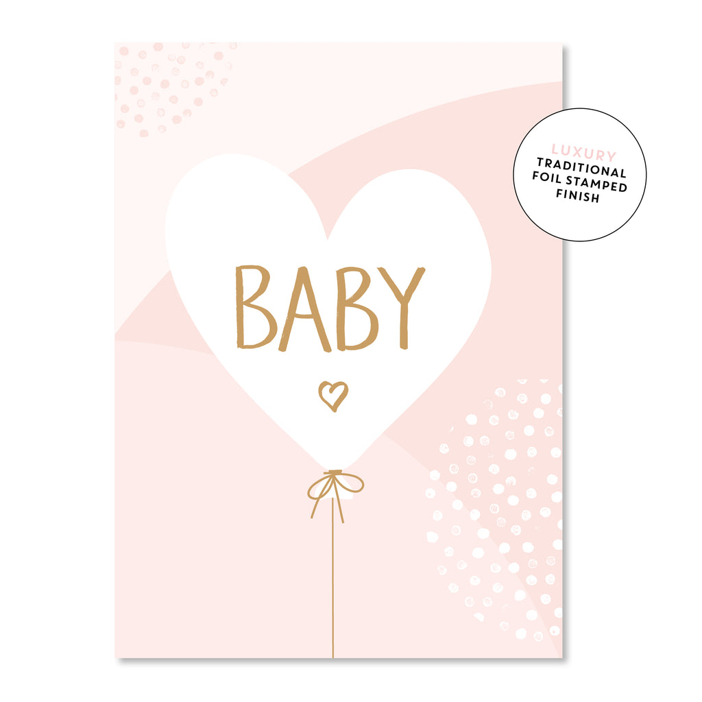 baby balloon - pink