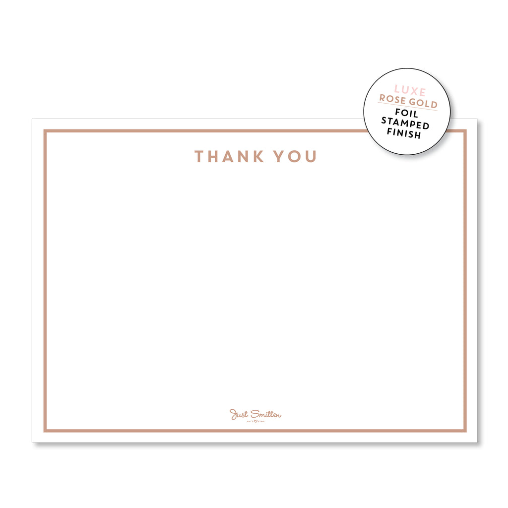 Thank you note cards (Boxed 10)