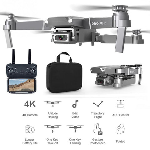E68 drone HD  video live recording