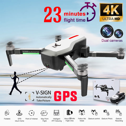Clearance SG906 Camera RC Drone,Professional , Follow Me