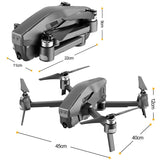 Brushless GPS Drone, Folding Quadcopter 30 Minutes Flight Time