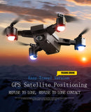 Drone GPS FOLLOW ME, low power return toy