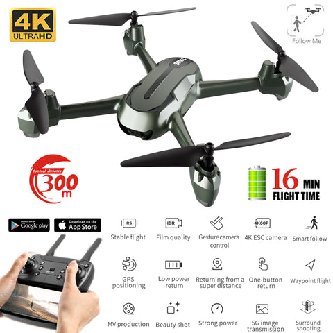 Professional Drone, Gps, Altitude Hold, 5G WiFi