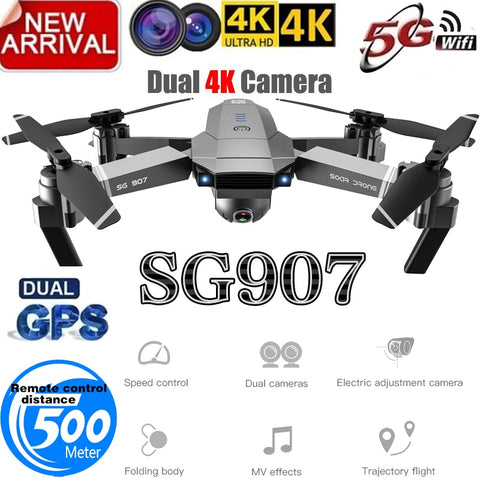 2019  Drone GPS with Camera Wide Angle Anti-shake