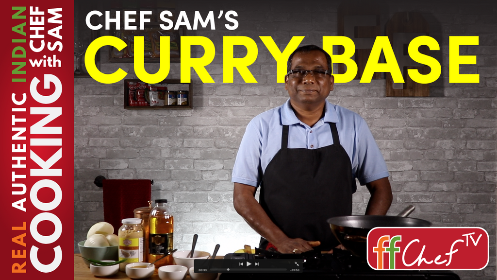 Sam's Curry Base - The Ultimate Shortcut for Cooking Indian Food!