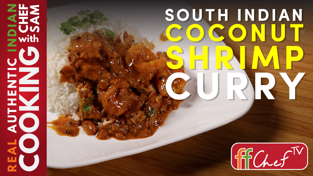 Easy Coconut Shrimp Curry | South Indian Style
