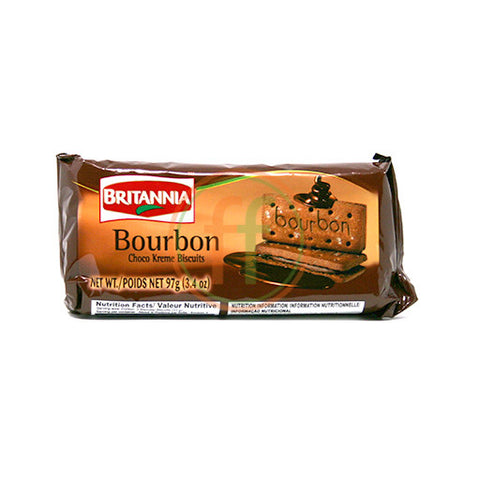 Britannia Bourbon Chocolate Cookies 100g