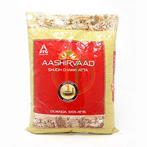 Ashirwad Whole Wheat Atta 22LB