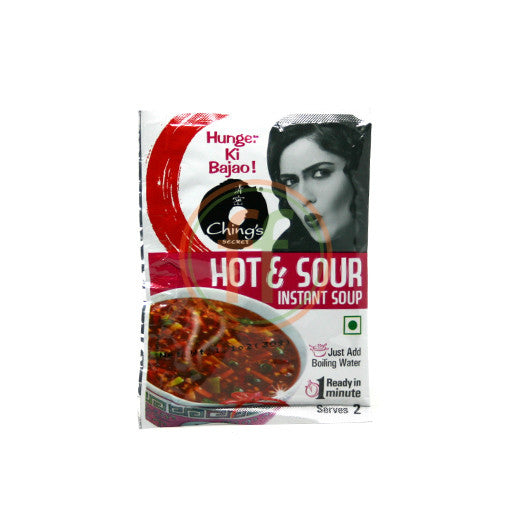 Chings Hot & Sour Soup 30g