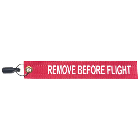 "Piper 5/8"" Flexible Cap Pitot Tube Cover w/ RBF Streamer"