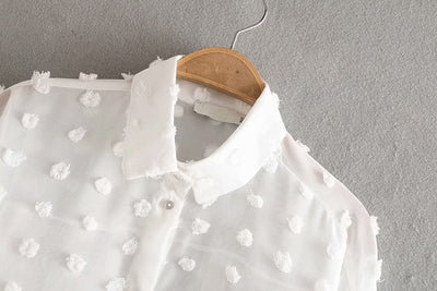 Tender Touch Lace Shirt - Good Mood | Fashion Online For Women