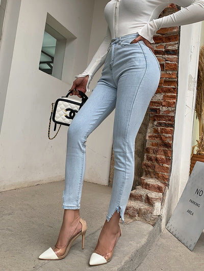 Eva High Waisted Jeans - Good Mood | Fashion Online For Women