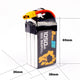 Auline EX 1050mAh 6S 22.2V 120C XT60 for Race Whoop & Freestyle
