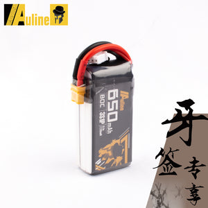 Auline 650mah 3S 11.1v 80C XT30 for 3inch Toothpick and 2.5inch FPV