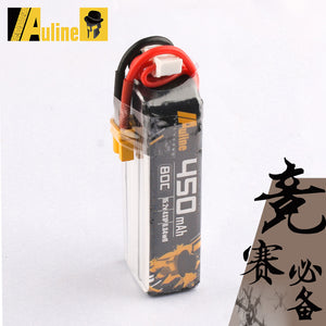 Auline 4S 450mah 15.2v 80C XT30 for 3in Toothpick FPV and Naked Cinewhoop