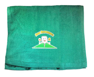 """Dink Responsibly""  Sports Towel"