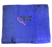 "Load image into Gallery viewer, ""Pickleball Strong"" Sports Towel"