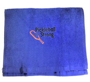 """Pickleball Strong"" Sports Towel"