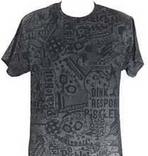 Load image into Gallery viewer, Men's- Black Shirt  with BLACK stain