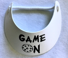 "Load image into Gallery viewer, ""No Headache Foam""Sun Visor - ""Game On"""