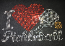 "Load image into Gallery viewer, ""I Heart Pickleball""  Design"