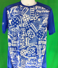 "Load image into Gallery viewer, Elite Performance by ""Headsweats"" Men's "" Royal Blue Front Print "" Short Sleeve"