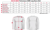 "Load image into Gallery viewer, Elite Performance by ""Headsweats"" Men's "" Grey & White with Front & Back Print"" Long Sleeves"
