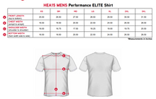 "Load image into Gallery viewer, Elite Performance by ""Headsweats"" Men's ""White Front & Black Back with Printed "" Short Sleeve"